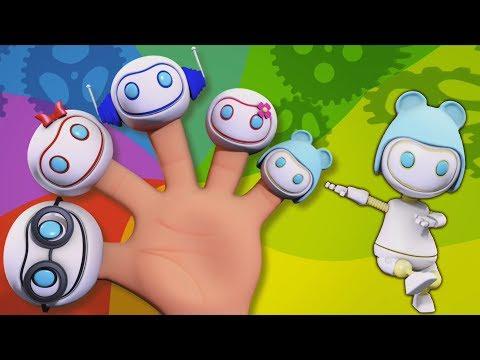 Робот палец семья | Детская рифма | Дети учатся | Dancing Robot | Kids Song | Robot Finger Family