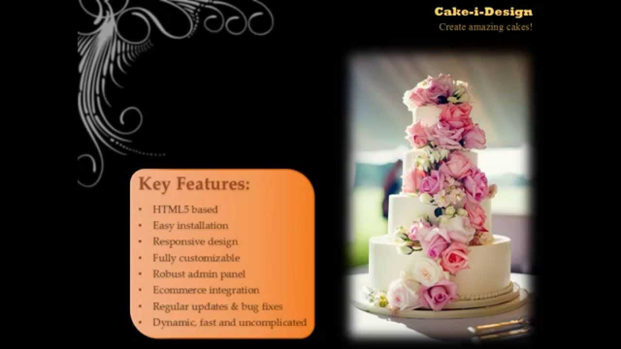 Cake I Design The Latest Online Cake Designing Tool Youtube