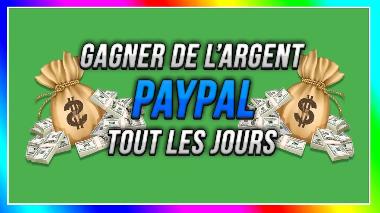 comment gagner de l 39 argent paypal rapidement et facilement youtube. Black Bedroom Furniture Sets. Home Design Ideas