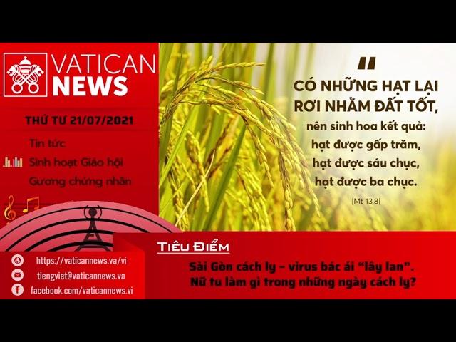 Radio thứ Tư 21/07/2021 - Vatican News Tiếng Việt