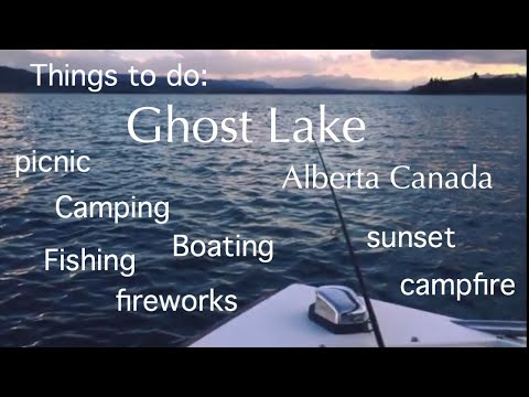 Ghost Lake, West Cochrane Alberta, CA - Boating