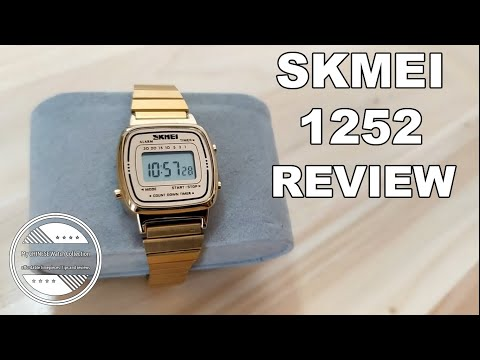 A Digital Timepiece For The Modern Woman? | SKMEI 1252 Ladies Watch Review