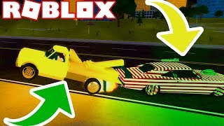 TROLLING PEOPLE AVEC LE TRUCK TOW! (Roblox Vehicle Simulator) #21