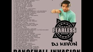 DANCEHALL INVASION VOL 1 [2015] MIXED BY DJ FEARLESS KEVON