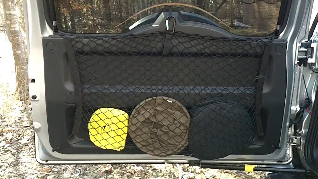 Bug Out Vehicle Storage : Fj cruiser bug out vehicle budget rear door storage