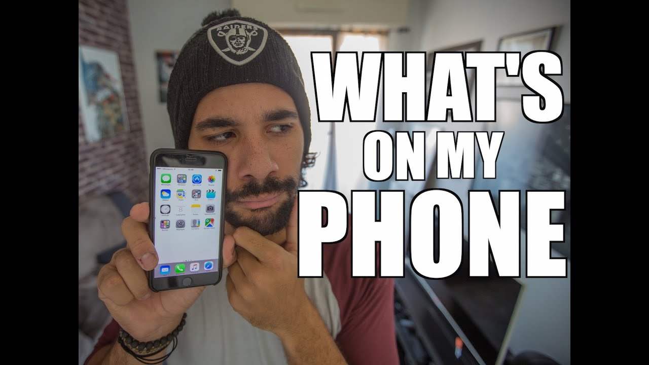 WHAT'S ON MY PHONE - JEREMY