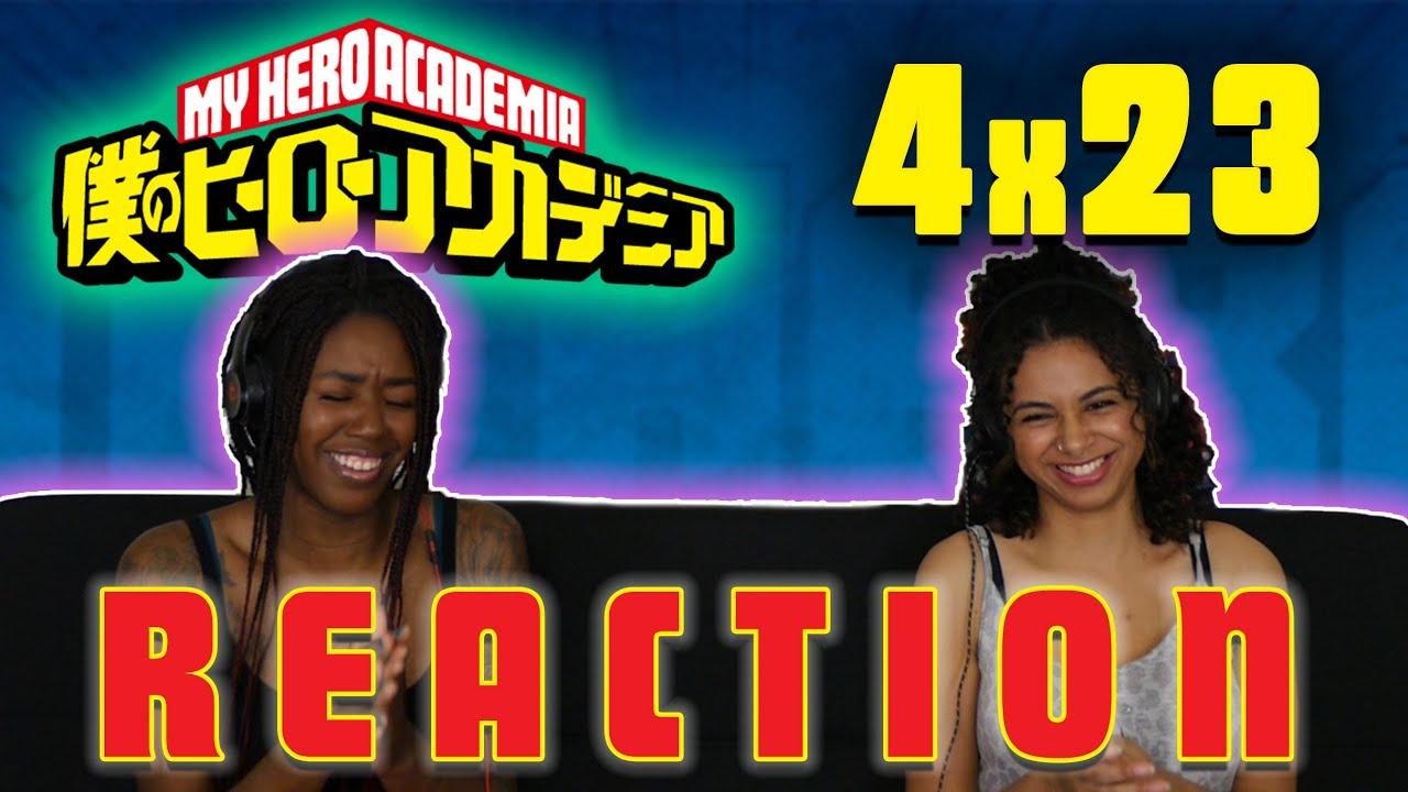Download My Hero Academia 4x23 REACTION!!