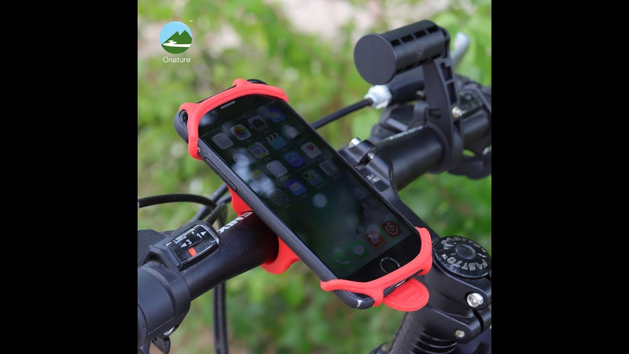 Universal Bike Phone Mount Silicone Material Bicycle Phone Holder
