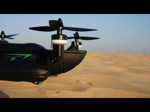 WLToys Q353 Air Land Sea Triphibian Quadcopter Review