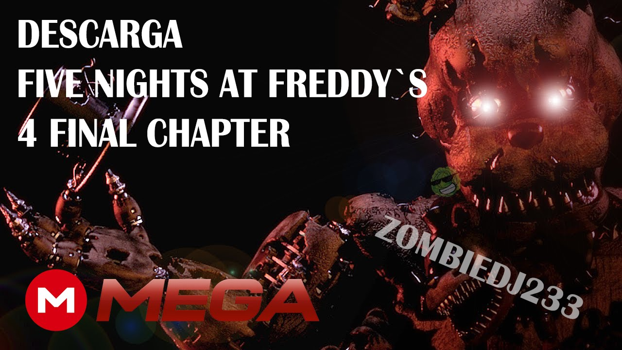 Five nights at freddys 4 full mega 1 link youtube