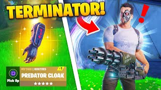 Fortnite TERMINATOR + PREDATOR Update - REVEALED!
