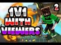 1v1 BuildUHC with viewers #2