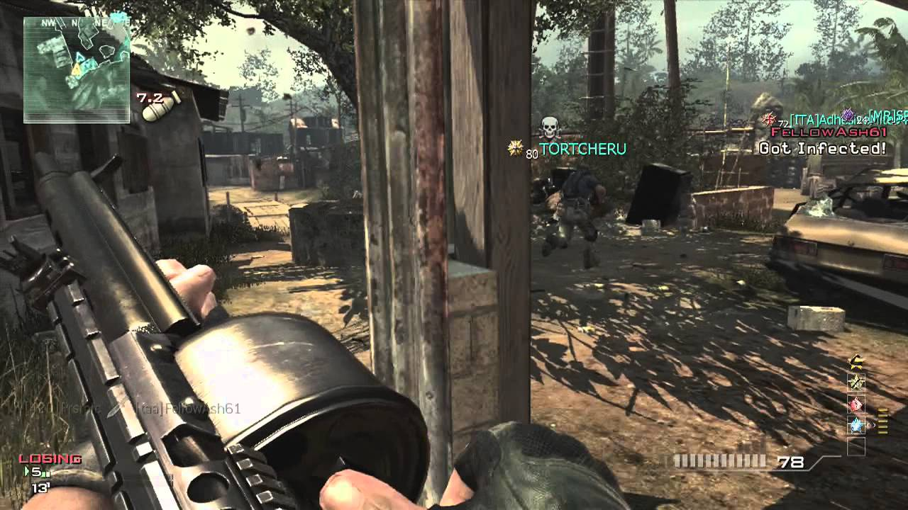 Village Infected MOAB (40-1) - Call of Duty Modern Warfare 3 MW3 Gameplay