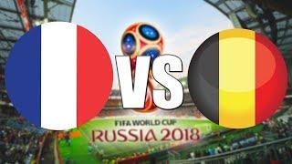 FIFA World Cup 2018 | SEMIFINÁLE | Francie - Belgie | CZ/SK
