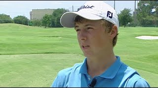 14-year-old Jordan Spieth talks about his Masters goal (2008)