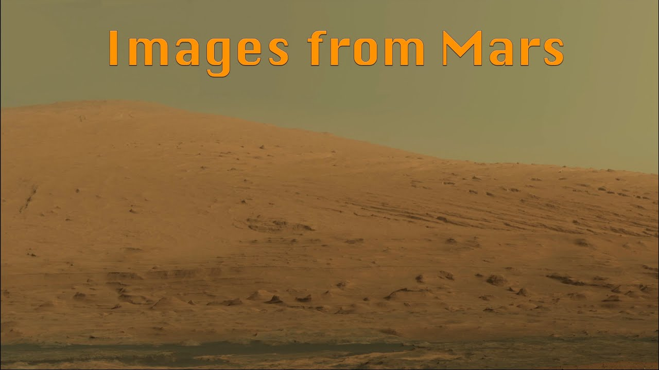 Imagery from Mars