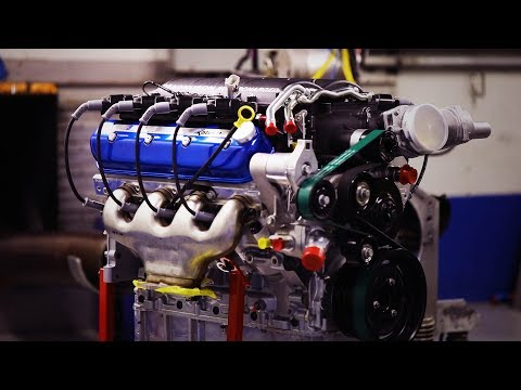 Alternative Fuel Engines by Katech - Supercharged LSX on LPG