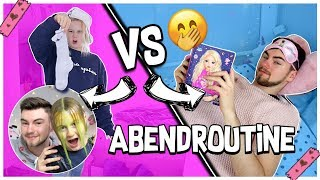 Abendroutine Rollentausch Boys VS Girls | MaVie Noelle Werbung