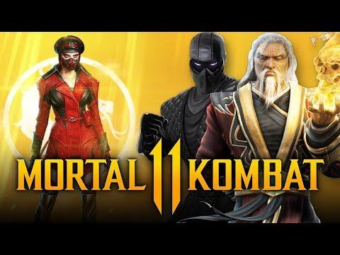 MORTAL KOMBAT 11 - NEW Kold War Skarlet Skin, Noob Saibot & Shang Tsung TEASED & DLC Reveal ALREADY? thumbnail