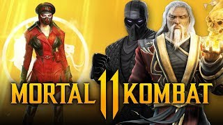 MORTAL KOMBAT 11 - NEW Kold War Skarlet Skin, Noob Saibot & Shang Tsung TEASED & DLC Reveal ALREADY?