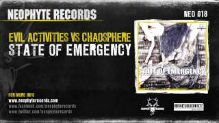Evil Activities & Chaosphere - State of Emergency (NEO018) (2003)