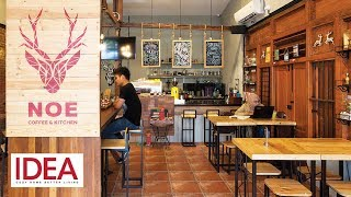Dulunya Sebuah Rumah Tua Terbengkalai, Begini Asiknya Tampilan Noe Coffe and Kitchen