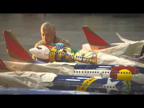 Southwest Airlines: How Our Model Planes Are Made