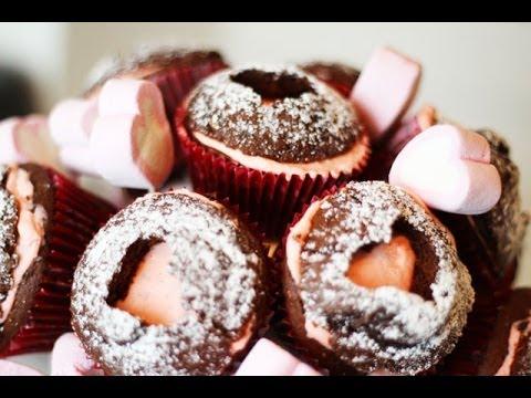 Cupcake Strauss Zum Valentinstag Yummypilgrim Youtube
