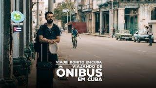 Viajando de ônibus em Cuba