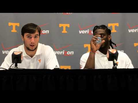 Justin Worley and A.J. Johnson talk about UT