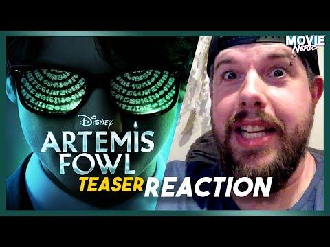 Disney's Artemis Fowl - Teaser Trailer Reaction