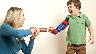 The Schoolboy Who Got A New Arm For Christmas: Limb Made By 3D Printer Means Charlie