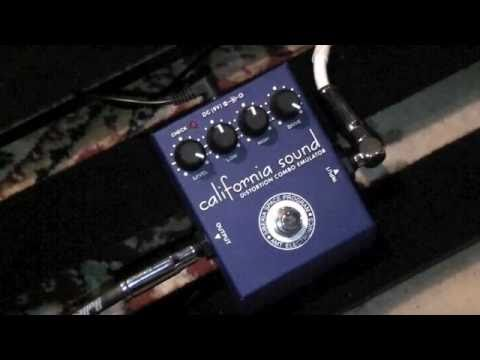 AMT Electronics California Sound Distortion Pedal Demo