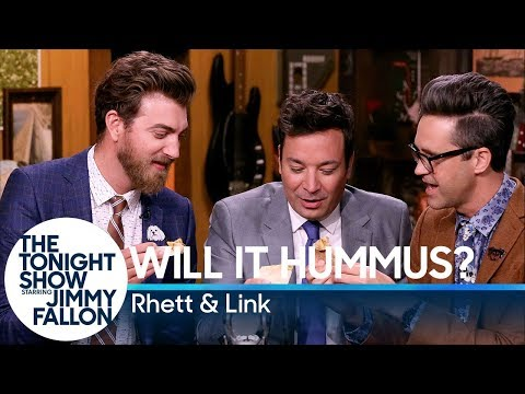 Will It Hummus? with Jimmy Fallon, Rhett & Link (Good Mythical Morning)