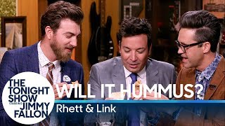 Will It Hummus? with Jimmy Fallon, Rhett & Link (Good Mythical Morning) Video