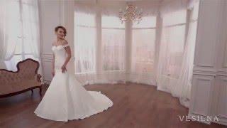 Свадебное платье русалка  2016 года от VESILNA™ модель 3045