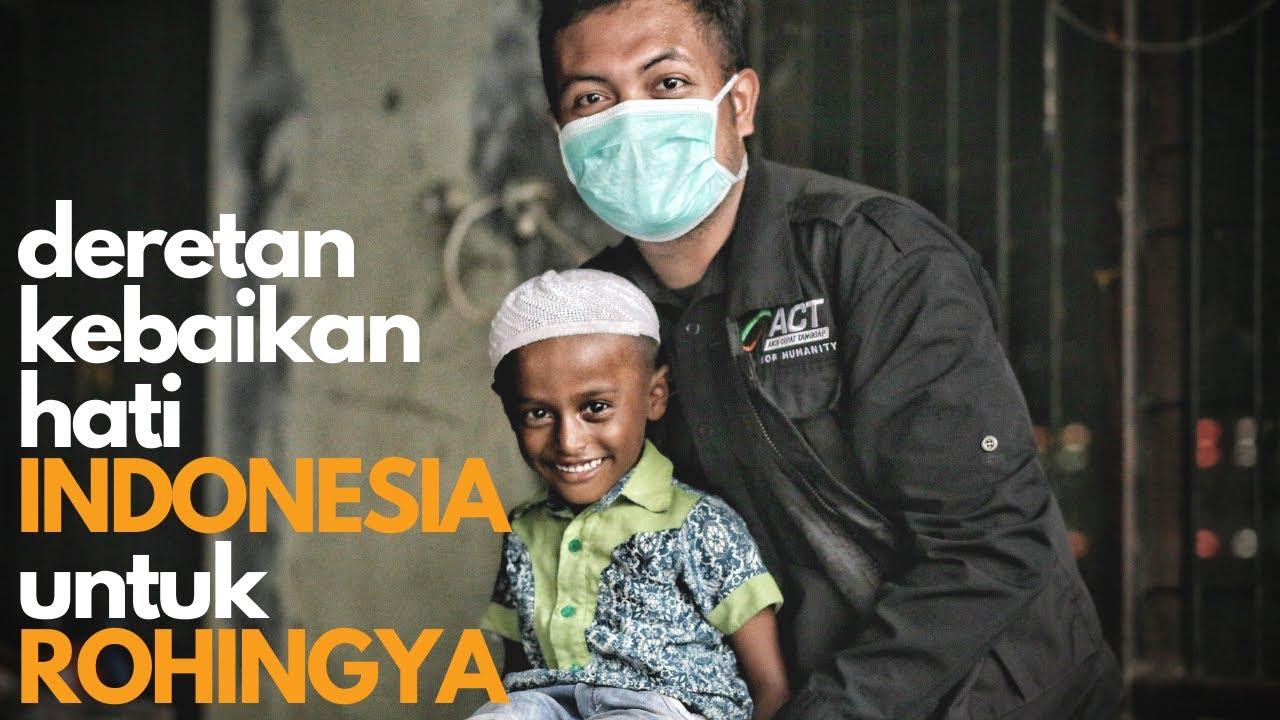 Apa yang Sudah Dilakukan Indonesia untuk ROHINGYA di Aceh?