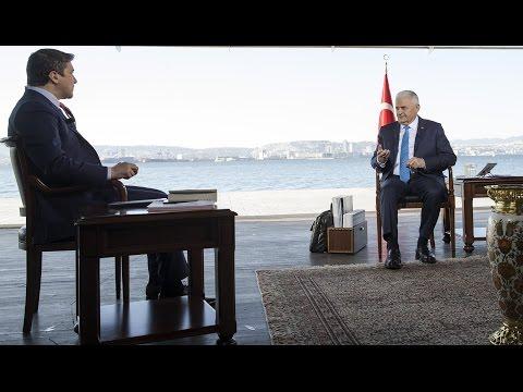 """Başbakan Yıldırım, Fox TV'de """"Çalar Saat"""" programında konuştu"""