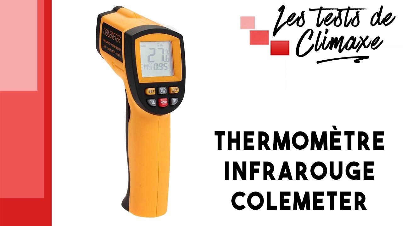 Thermomètre Four À Pain 500 test d'un thermomètre infrarouge colemeter