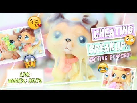 LPS: Cheater BREAKUP! (Getting Exposed) - High School Skit
