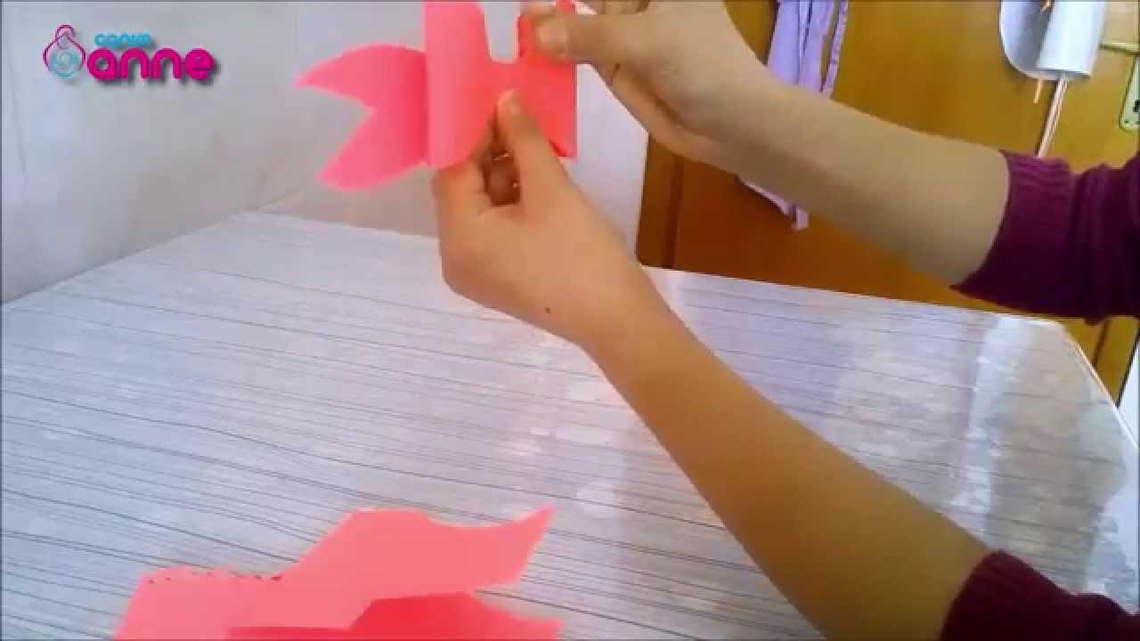 Krapon Kağıdından Fiyonk Yapımı