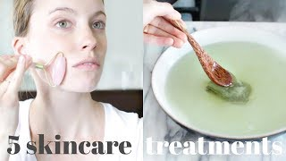 Clear Your Skin NATURALLY | 5 Simple Recipes