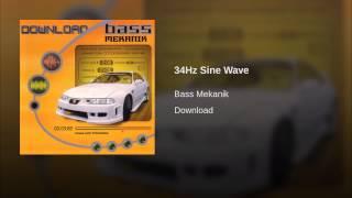 34Hz Sine Wave