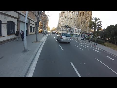 Cycling in Catalonia Spain - Barcelona city ride - Ciclismo