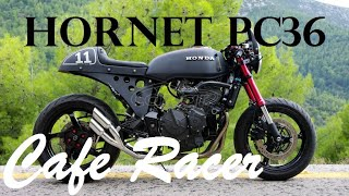 Cafe Racer 11 Honda hornet pc36 cb600f 06 custom project .
