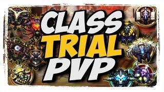 Class Trial PvP!!! WoW 2v2 arena legion 7.1.5