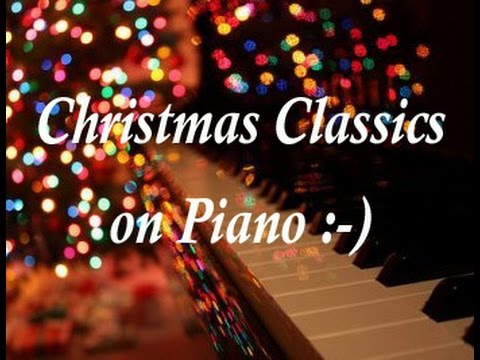 Christmas Piano.Best Christmas Music Playlist Soft Beautiful Classics On Piano