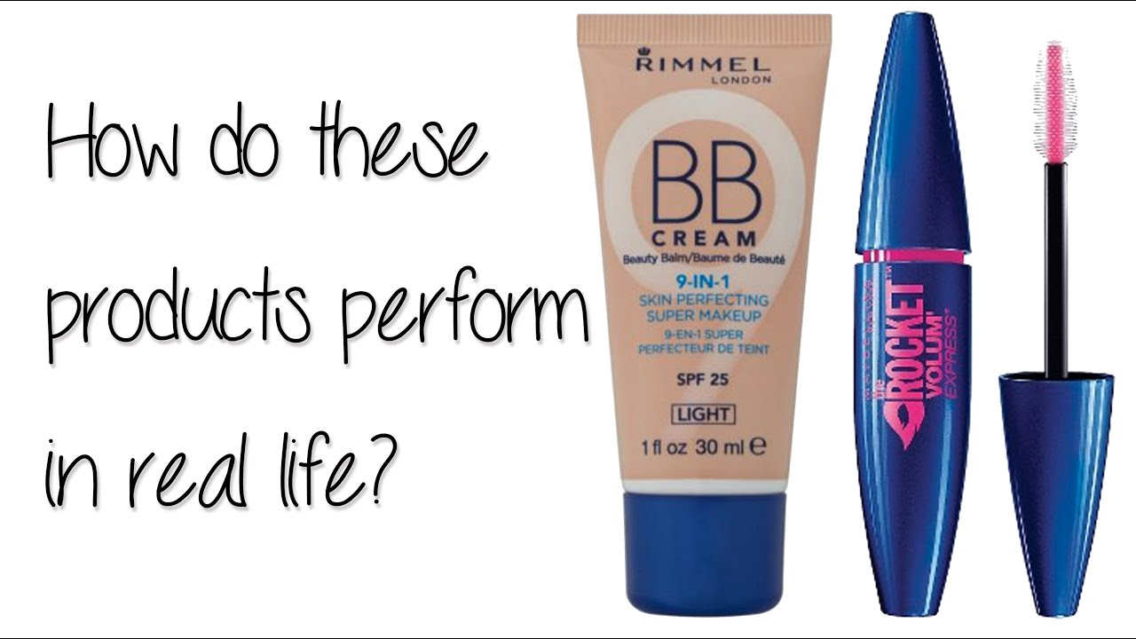 Makeup In Real Life: BB Cream and Waterproof Mascara - YouTube