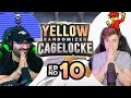 LAST CAGE MATCH & ELITE 4!! | Pokemon Yellow Randomized Cagelocke Ep 10