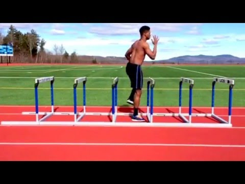Track and field hurdle drills